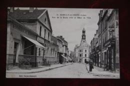 ROMILLY Sur SEINE - Rue De La Boule D'Or Et Hotel De Ville - Romilly-sur-Seine
