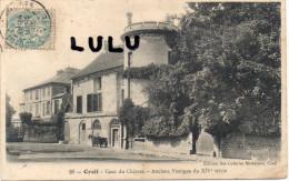 DEPT 60 : Creil , Cour Du Chateau - Creil