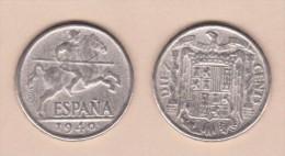 """FRANCISCO FRANCO  (ESTADO ESPAÑOL)  10 Céntimos 1.940  """"JINETE IBÉRICO""""  SC/UNC  Réplica  T-DL-11.454 - [ 4] 1939-1947 : Gobierno Nacionalista"""