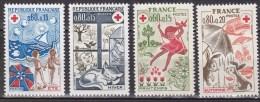N° 1828 Et 1829 1860 Et 1861 Croix Rouge: été Hiver Automne Primptemps:Timbres Neuf Sans Charnière - Nuevos