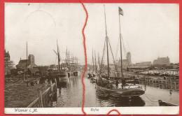 Wismar , Hafen - Wismar