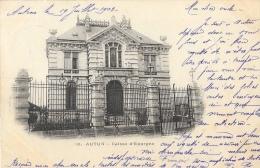 Autun (Saone Et Loire) - Caisse D'Epargne - Carte Précurseur - Banks