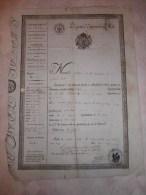 Passeport Année 1811, Commune De Saint Sixte (loire) - Sammlungen