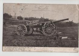 ARTILLERIE Un Précieux Auxiliaire - Le Canon De 120 Long - Guerre 14-18 - 1914-18