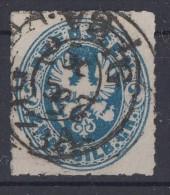 Preussen Minr.17b Gestempelt Geprüft - Preussen