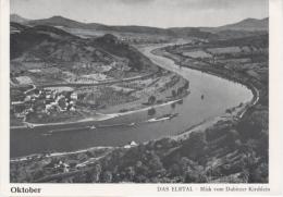 Elbtal - S/w Blick Vom Dubitzer Kirchlein - Boehmen Und Maehren