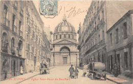 NANTES - Eglise Notre Dame De Bon Port ( Livraison De Vins ?) - Nantes
