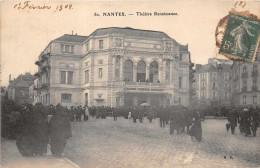 NANTES  -  Le Theatre De La Renaissance ( Belle Animation ) Edts M.B - Nantes