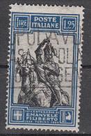 Regno D'Italia - 1928 - Emanuele FIliberto - 1,25 Lire  (235) - Usati