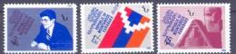 2004.Mountainous Karabakh, Overprints , 3v, Mint/** - Armenia