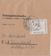 Berlin Zeitungsdrucksache EF Minr.166 Bad Ems - Berlin (West)