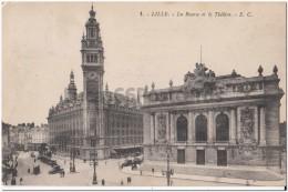Lille - La Bourse Et Le Théâtre - Lille