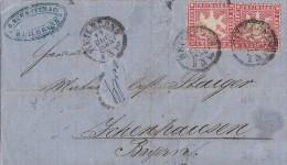 Württemberg Brief Mef Minr.2x 26 Heilbronn 11.12.63 - Wurtemberg