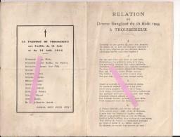 Troissereux Oise Fusillés Du 16/08/44 Doriot Vichy Collaboration   WWII Ww2 2wk 39-45 1939-1945 - 1939-45