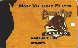 Buffalo Run Casino Miami, OK Slot Card - Blank - Casino Cards