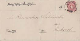 DR Brief EF Minr.33 Dortmund ST P.E. 2 1.7.79 Gel. Nach Ruhrort - Deutschland