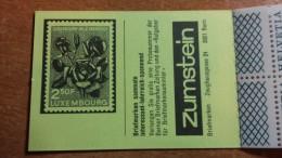 1357h: Schweiz Markenheftchen 78 A Komplett ** Mnh, 2. Heftchenseite ROSE (Luxemburg) - Roses
