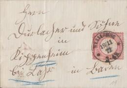 DR Brief EF Minr.19 Wesserling 19.11.72 Gel. Nach Kippenheim Schrift !!!!!!!! - Deutschland