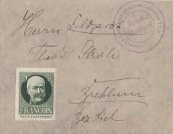Feldpostbrief Mit Vignette Francois - Deutschland