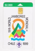 ® JAMBOREE CHILE 1999 - Scout - Phonecards