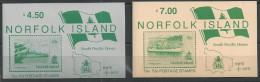 1992 MNH Booklet Ships (2) - Norfolk Island
