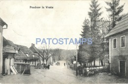 25753 SERBIA SERBIE VRATA VIEW PARTIAL STREET POSTAL POSTCARD - Serbia