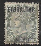 Gibraltar Scott     1 Used V Fine   CV 9.50 - Gibraltar