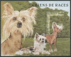 Kambodscha 1997 Hunderassen: Chin. Schopfhund Block 230 Postfrisch (C10664) - Cambodia