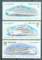 USSR 1987 SHIPS, S S S R, 1 X 3v, MNH - Schiffe