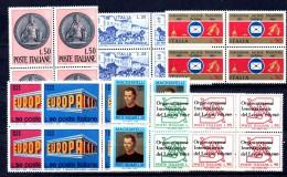 ROSSO - REPUBBLICA 1969 , L´ Annata    IN QUARTINA  ***  MNH - 6. 1946-.. Repubblica