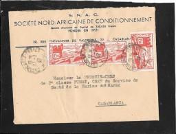 CAD  CASABLANCA  - POSTE    MAROC - Marokko (1891-1956)