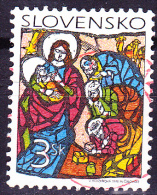 Slowakei Slovakia Slovaquie - Weihnachten/Christmas/Noël (Mi.Nr. 327) 1998 - Gest. Used Obl. - Slovakia