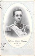 FAMILLES ROYALES : ESPANA Espagne : ALPHONSE XIII , Roi D'Espagne ( 29 Mai 1905 ) PARIS - CPA - - Familles Royales
