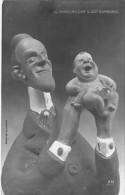 POLITIQUE Fantaisie Satirique - ESPANA Espagne : Il Grandira Car Il Est Espagnol ( Maquette De GIRIS ) - CPA - - Satiriques