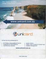 AUSTRALIA - The Twelve Apostles, Great Ocean Road/Victoria, Unicard Recharge Card, Sample - Australia