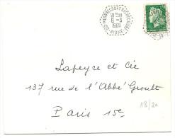 Aisne - AGENCE POSTALE : MESBRECOURT RICHECOURT. Type F9 - 1961-....