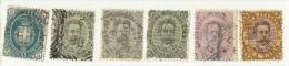 LDR11 - ITALIE REGNO  UMBERTO I EMISSION DE 1889 TIMBRES  OBLITERES - Oblitérés