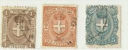 LDR11 - ITALIE REGNO  UMBERTO I EMISSION DE 1896/97 SERIE OBLITEREE - 1878-00 Humbert I