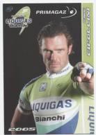 "CYCLISME  2005  ""   MARIO CIPOLLINI ""   EQUIPE LIQUIGAS  2005   CPSM  10 X 15 - Cycling"
