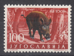 Yugoslavia Republic 1960 Animals Mi#925 Single Key Stamp From Set, Mint Hinged - 1945-1992 Socialist Federal Republic Of Yugoslavia