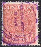 India Bft26 1962 Revenue 10np Used - Oblitérés