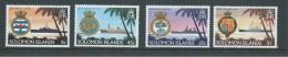 Solomon Islands 1981 Ship & Crest Set Of 4 MNH - Isole Salomone (1978-...)