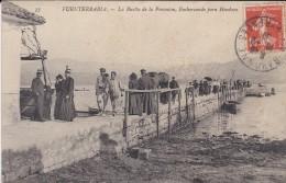 ESPAGNE---FUENTERRABIA--la Buelta De La Procesion Embarcando Para Hendaya---voir 2 Scans - Espagne