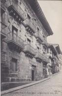 ESPAGNE---FUENTERRABIA--calle Mayor Antigna Casa De Torre Alta---voir 2 Scans - Espagne