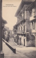 ESPAGNE---FUENTERRABIA--una Casa De La Calle Mayor ---voir 2 Scans - Espagne