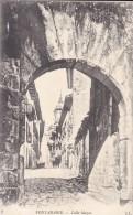 ESPAGNE---FONTARABIE--calle Mayor ---voir 2 Scans - Espagne