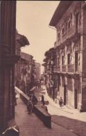 ESPAGNE---FONTARABIE--la Calle Mayor Vista De La Iglesia ---voir 2 Scans - Espagne