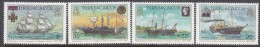 TURKS/CAICOS Is, 1987 QUEEN VICTORIA 4 MNH - Turks And Caicos