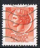 Italy SG1205 1968 Definitive 10l Good/fine Used - 1944-... Republik