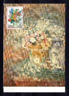 """Carte Maximum De 1980  """" 28 ° FLORALIES GANTOISES / BOUQUET DE FLEURS  """". N° YT 1966. Parfait état. CM - Cartes-maximum (CM)"""
